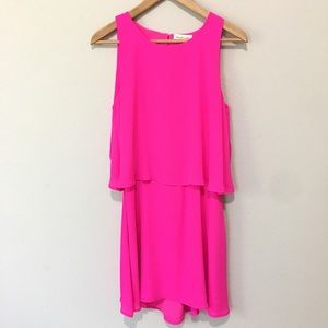 Sugar + Lips Hot Pink Dress